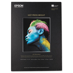 EPSS042330 - Epson® Hot Press Bright Fine Art Paper
