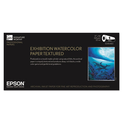 EPSS045483 - Epson® Exhibition Textured Watercolor Paper Roll