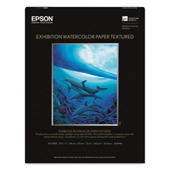 EPSS045486 - Epson® Exhibition Textured Watercolor Paper