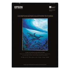 EPSS045487 - Epson® Exhibition Textured Watercolor Paper