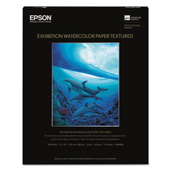 EPSS045488 - Epson® Exhibition Textured Watercolor Paper
