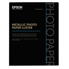 EPSS045591 - Epson® Professional Media Metallic Glossy Photo Paper