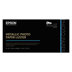 EPSS045592 - Epson® Professional Media Metallic Luster Photo Paper Roll