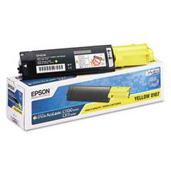 EPSS050187 - Epson S050187 Toner, 4000 Page-Yield, Yellow