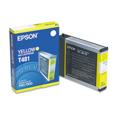 EPST481011 - Epson T481011 Ink, 3200 Page-Yield, Yellow