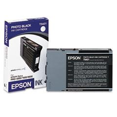 EPST543100 - Epson T543100 Ink, Black