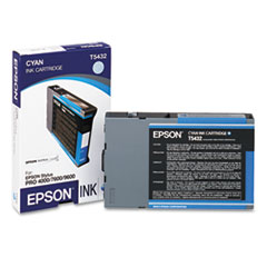 EPST543200 - Epson T543200 Ink, Cyan