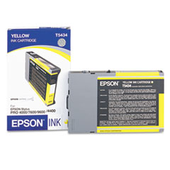 EPST543400 - Epson T543400 Ink, Yellow