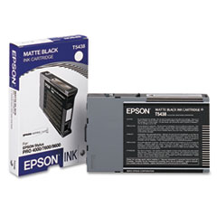 EPST543800 - Epson T543800 Ink, Matte Black