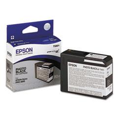 EPST580100 - Epson T580100 UltraChrome K3 Ink, Photo Black