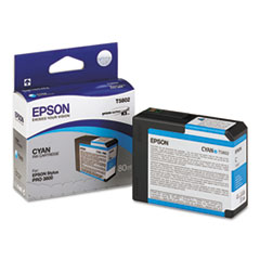 EPST580200 - Epson T580200 UltraChrome K3 Ink, Cyan