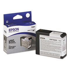 EPST580700 - Epson T580700 UltraChrome K3 Ink, Light Black