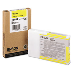 EPST605400 - Epson T605400 (60) Ink, Yellow