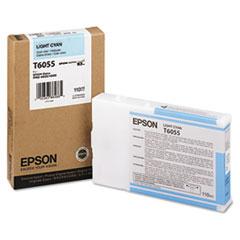 EPST605500 - Epson T605500 (60) Ink, Light Cyan