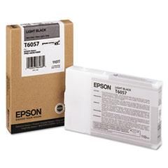 EPST605700 - Epson T605700 (60) Ink, Light Black