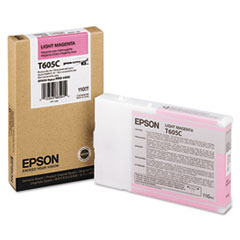EPST605C00 - Epson T605C00 Ink, Light Magenta