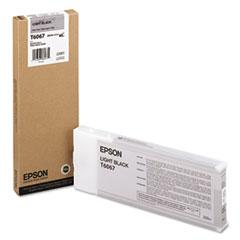 EPST606700 - Epson T606700 (60) Ink, Light Black