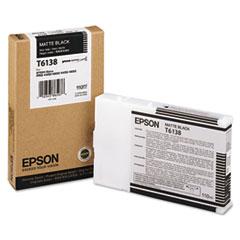 EPST613800 - Epson T613800 (61) Ink, Matte Black