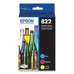 EPST822520S - Epson® T822 Original Ink Cartridges