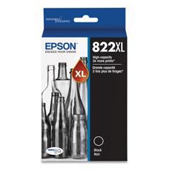 EPST822XL120S - Epson® T822XL Original High-Capacity Ink Cartridges