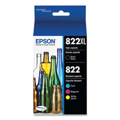 EPST822XLBCS - Epson® T822XL Original High-Capacity Ink Cartridges