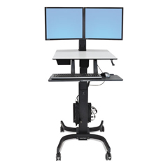 ERG24214085 - Ergotron® WorkFit-C Sit-Stand Workstation