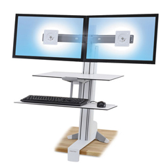 ERG33349211 - Ergotron® WorkFit-S Sit-Stand Workstation with Worksurface+