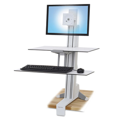ERG33350211 - Ergotron® WorkFit-S Sit-Stand Workstation with Worksurface+