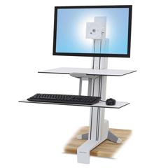 ERG33351211 - Ergotron® WorkFit-S Sit-Stand Workstation with Worksurface+