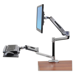 ERG45405026 - Ergotron® WorkFit-LX Sit-Stand Desk Mount System
