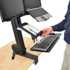 ERG97558200 - Ergotron® WorkFit-S Tablet/Document Holder