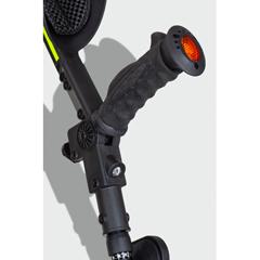 ERXA001 - Ergoactives - Ergobaum 7G Shock Absorber Forearm Crutches, 1 Pair, Black (5 to 66)