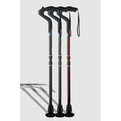 ERXA050 - Ergoactives - Ergocane 2G Shock Absorber Walking Cane, One-Size-Fits-All, Carbon