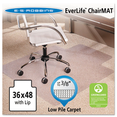ESR128073 - ES Robbins® EverLife® Moderate Use Chair Mat for Low Pile Carpet