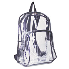 EST193971BJBLK - Eastsport® Clear Backpack