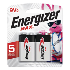 EVE522BP2 - Energizer® MAX® Alkaline Batteries