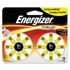 EVEAZ10DP16 - Energizer® Mercury-Free Watch/Electronic/Specialty Battery