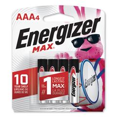 EVEE92BP4 - Energizer® MAX® Alkaline Batteries