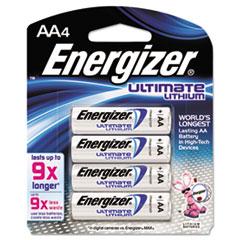 EVEL91BP4 - Energizer® e²® Ultimate Lithium Batteries
