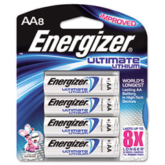 EVEL91BP8 - Energizer® e²® Ultimate Lithium Batteries