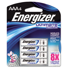 EVEL92BP4 - Energizer® e²® Ultimate Lithium Batteries