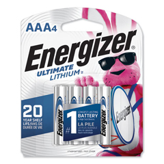 EVEL92SBP4 - Energizer® Ultimate Lithium Batteries