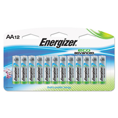 EVEXR91BP12 - Energizer® Eco Advanced™ Batteries