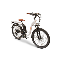 EWH-EWBAM-STEPTHRU-WHT - EWheels - EW-STEP THRU Electric Bicycle
