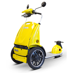 EWHEW-77Y - EWheels(EW-77) Edge 3-Wheel Mobility Scooter