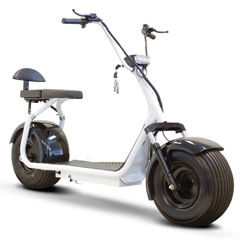 EWHEW-08W - EWheels(EW-08) Fat Tire Scooter, White