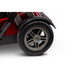 EWHEW-REMO-RED - EWheels - (EW-REMO) REMO Auto-Flex Travel 4-Wheel Scooter, Red