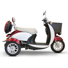 EWHEW-11R-WHITEGLOVE - EWheels(EW-11) Sport Euro-Style 3-Wheel Scooter with White Glove Delivery