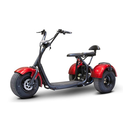 EWHEW-21-WHITEGLOVE - EWheels(EW-21) 3-Wheel Chopper Trike, Red + White Glove Delivery