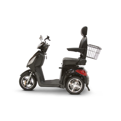EWHEW-36BLK-Slowpoke - EWheels(EW-36) Slowpoke 3-Wheel Scooter with Electromagnetic Brakes